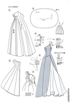 Liane evening dress pattern other dress patterns site is in russian