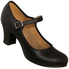 Aris Allen Black 1940s Mary Jane Character Shoe - *Limited Sizes*