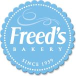 """Freed's Bakery - A little ways from The Strip but worth it (in my opinion) for their """"wedding cake"""" by the slice that is filled with fresh strawberries and cream."""