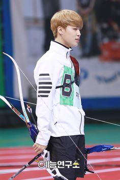 "BTS at 2016 ""Idol Star Athletics Championships"" Chuseok Special part 10 [160829]"