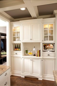 Uplifting Kitchen Remodeling Choosing Your New Kitchen Cabinets Ideas. Delightful Kitchen Remodeling Choosing Your New Kitchen Cabinets Ideas. Kitchen Redo, Kitchen Pantry, Kitchen And Bath, New Kitchen, Kitchen Remodel, Kitchen Cabinets, Kitchen Ideas, Corner Cabinets, Glass Cabinets