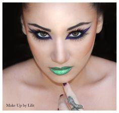Love green lips