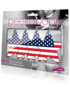 Go ahead and give this a look 🙂 Peekaboos Stars & Stripes Pasties - 2 Pairs http://www.bellesboxes.com/products/peekaboos-stars-stripes-pasties-2-pairs?utm_campaign=crowdfire&utm_content=crowdfire&utm_medium=social&utm_source=pinterest