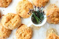 Cheddar Cheese, Beer and Chive Gougères from Bojon Gourmet