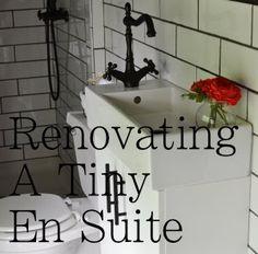 renovating a tiny en suite, bathroom ideas, diy, home improvement, tiling