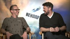Simon Pegg and Karl Urban on making Star Trek Beyond, what they collect, video games, Harrison Ford pictures, Pete's Dragon, Thor: Ragnarok and a lot more.