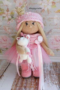 Купить Маленькая принцесса - бледно-розовый, кукла ручной работы, кукла, кукла в подарок