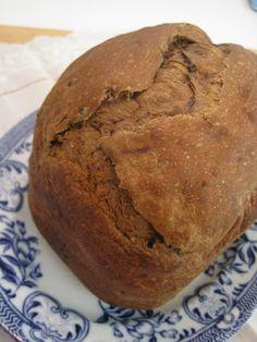 Pão de Forma Integral com Passas