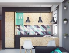"""Check out this @Behance project: """"Budget Apartment"""" https://www.behance.net/gallery/21205881/Budget-Apartment"""