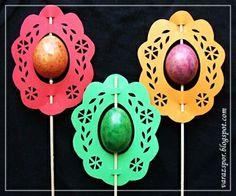 Varázspor: Húsvéti tojásdísz papírból