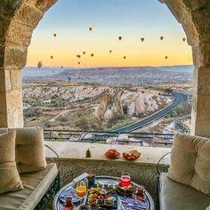 Museum Hotel, Cappadocia - Turkey❤️❤️❤️ Credits ✨@neskirimli✨ . #beachesnresorts for a feature ❤️