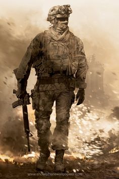 Call of duty is a fps which stands for first person shooter