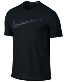 Nike Men s Dri-Fit Contour Running Top Men - T-Shirts - Macy s. I ShopBlack  ... 6ff4853d8