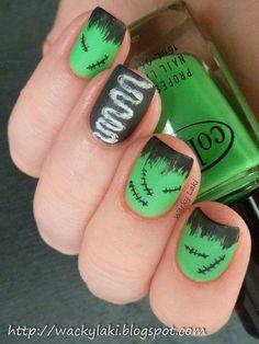 Frankinstine nails