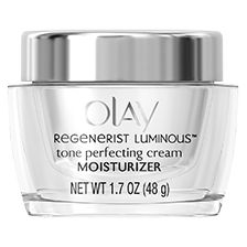 Shop Olay Regenerist Luminous Tone Perfecting Cream and discover a facial moisturizer that hydrates skin and fades dark spots and uneven skin. Drug Store Face Moisturizer, Moisturizer With Spf, Oil Of Olaz, Dark Spots Under Eyes, Under Eye Bags, Olay Regenerist, Face Lotion, Blenders, Cleanser