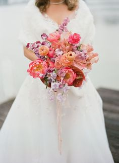 Romantic, whimsical, lush... this February wedding on a lake in Texas is chock full of our favorite things. No surprise they all involve flowers! A winding flower aisle ceremony just off the water, a pink checkered dance floor canopied by a fresh floral ceiling, mid-century modern lounges with rattan chairs, geometric bars and velvet upholstery... we should just let you see it with your own eyes, yes? Magical Wedding, Whimsical Wedding, Chic Wedding, Blush Weddings, Romantic Weddings, Bride Bouquets, Bridesmaid Bouquet, Wedding Designs, Wedding Ideas