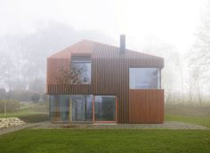 Pitched Roofs Make a Point in Modern and Contemporary Homes