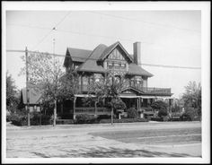 Ocean Avenue and Avenue L, Brooklyn.  (H.A. Faber residence). ca. 1910 (Photo courtesy of the MCNY)