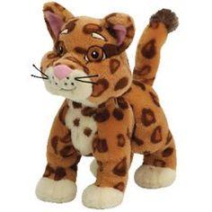 Amazon.com: Ty Beanie Babies Collection Dora's Friend Baby Jaguar: Toys & Games