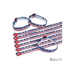 USA Woven Friendship Bracelets. Wear your American pride for all to see! These friendship bracelets make great gifts on the 4th of July. Adjusts these 10 ...
