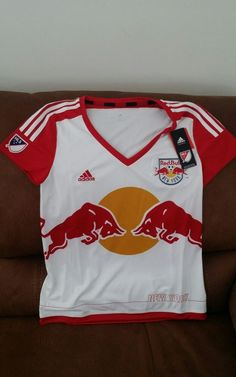 Adidas new york red bulls mls usa soccer jersey new with tags size M womens | Sports Mem, Cards & Fan Shop, Fan Apparel & Souvenirs, Soccer-MLS | eBay!