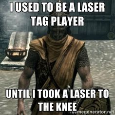 Skyrim x Monster Hunter meme Skyrim, Monster Hunter Memes, Monster Hunter World, Arrow To The Knee, Funny Monsters, Working In Retail, Elder Scrolls Online, Video Games Funny, Funny Games