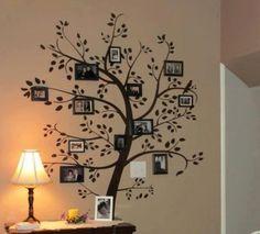 Muestra tu árbol familiar en tu pared con vinilos decorativos