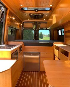 Vanlife Van Camping Vans on SWIPE to view this beautiful land yacht built by the awolrigs team! Be sure to check them out if youre on the East Side of the Autos Mercedes, Mercedes Auto, Bmw Autos, Mercedes Camper Van, Van Conversion Interior, Camper Van Conversion Diy, Mercedes Sprinter 4x4, Camping Vans, Kombi Motorhome