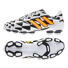 check out 7e7e2 7673c Adidas Nitrocharge 2.0 Battle Pack TRX FG Youth Soccer Cleats (Core  WhiteSolar Gold