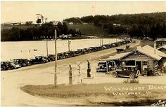 North end of Lake Willoughby circa 1920-25