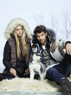 Models Danielle Knudson and Jeffrey Finn for Point Zero's Fall/Winter 2014 ad campaign.  Find these styles on our website at www.pointzero.ca