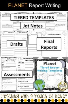 "Tiered illness and disease report writing templates to support diverse needs of students! The ""Illness and Disease Report Writing"" package contains materials to support your students as they write an illness or disease report. Health Activities, Reading Activities, Reading Skills, Writing Skills, Writing Ideas, Date Topics, Solar System Activities, Professional Presentation Templates, Report Writing"