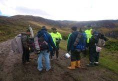 Policía Ambiental y Ecológica desarrolla planes de control ambiental en el parque nacional natural los nevados