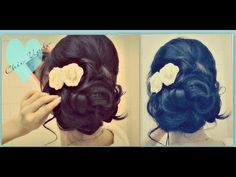 ▶ ★ EASY PROM WEDDING HAIRSTYLES WITH CURLS | FORMAL UPDOS FOR MEDIUM LONG HAIR TUTORIAL | HOW TO UPDO - YouTube