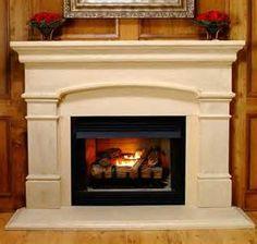 Cast Stone Electric Fireplace Mantel Surround