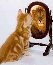 El espejo solo muestra el reflejo. El ser se muestra en el que mira de verdad.