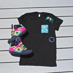 HBB Clothing   Blue Pocket Tee www.hotbandboys.storenvy.com  #pockettee #sneakers #kicks #outfit