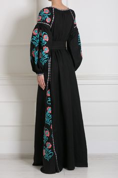 #Ukrainian #style Льняное платье Vita Kin (фото)