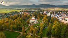The Summer Palace park in Ostrov, Czech republic http://www.pamatkyaprirodakarlovarska.cz/ostrov-letohradek
