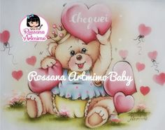 Decoupage Vintage, Baby Scrapbook, Videos, Teddy Bear, Diy Crafts, Toys, Painting, Bear Paintings, Baby Painting