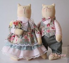 игрушки тильды в стиле прованс Beautiful Dolls, Crochet Baby, Harajuku, Bunny, Cats, Children, Pattern, Handmade, Fashion