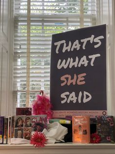 Women's History Month was celebrated in our YA area at the Morganton Public Library with a display of female authors! Library Book Displays, Library Books, School Librarian, That's What She Said, Women's History, Display Ideas, Authors, High School, Public