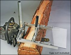 Granberg Chain-Saw Mills - Woodworking