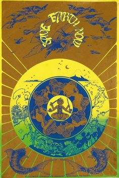 Save Earth Now (1967), Hapshash and the Coloured Coat #posters