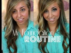 I love this girl.. has the best foundation routines!!