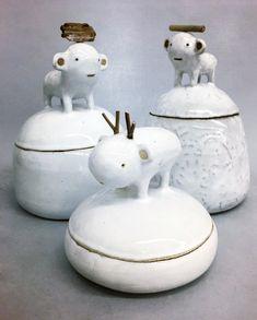 Jars / Ceramics - g de rosamel