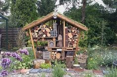 Fun idea for firewood and kindling.