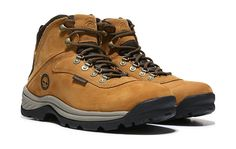 Timberland Men's White Ledge Waterproof Hiking Boot at Famous Footwear Leather Fashion, Fashion Boots, Adventure Boots, Waterproof Hiking Boots, Timberland Waterproof, Leather Lace Up Boots, Brown Leather, Casual Boots, Casual Outfits