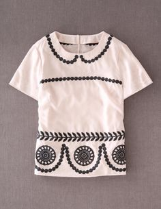 Top from Boden ... Love their stuff!