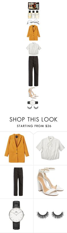 """""""..."""" by anaislachance ❤ liked on Polyvore featuring Monki, Margaret Howell, Balenciaga, Schutz, Chanel and Jura"""